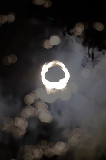 金冠日食 田フレア1