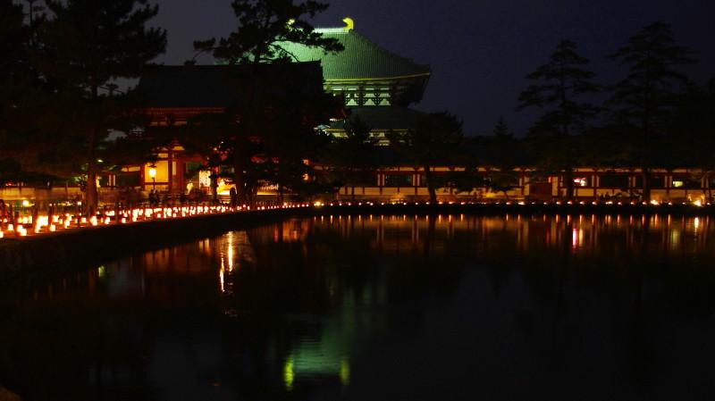 東大寺 燈花会