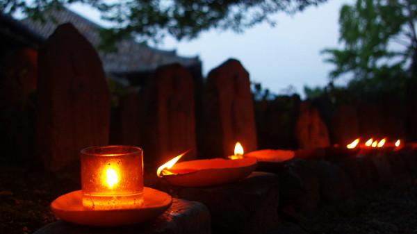 元興寺 灯明皿と行基瓦
