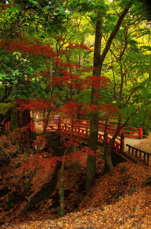 水谷神社 橋