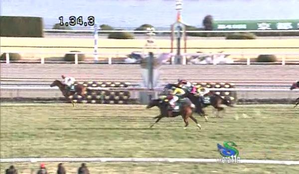 京都牝馬ステークスゴール