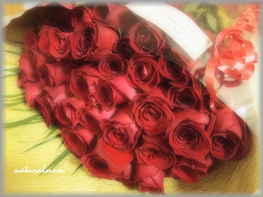 60本のバラ