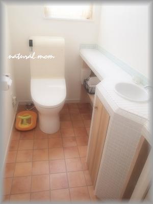 1Fトイレの床