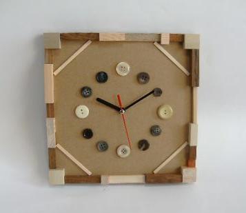 手作り時計