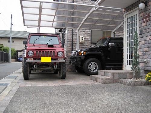駐車場 20120519