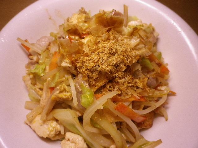 島干豆腐チャンプルー