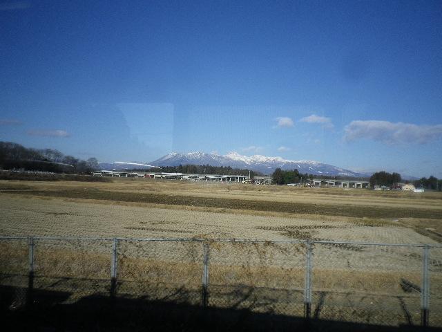 車窓から那須