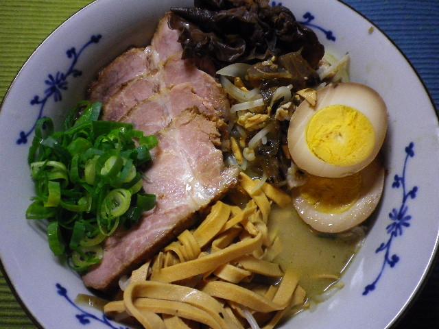 高菜チャーシュー麺