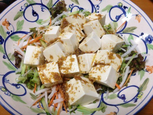 豆腐干絲サラダ