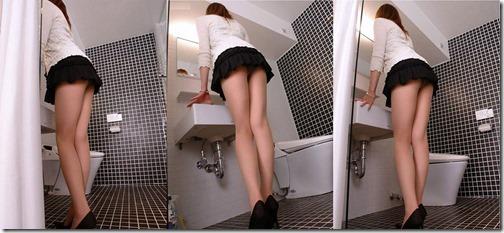 【ミニスカ絶対領域エロ画像】パンツが見えてなくても抜けそうなミニスカートのお姉さん画像(50枚)17-s