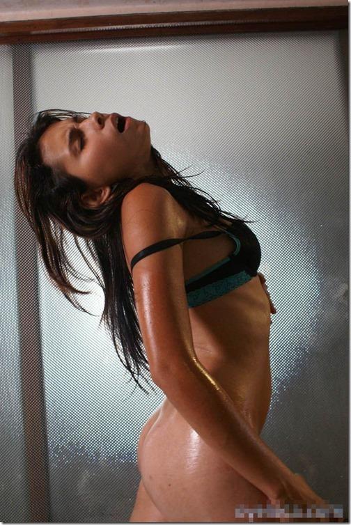 15【世界の射精から;ボリビア(Bolivia)編】『天空の鏡』に映し出されたエロ美しき女神達Sofia Gomez03