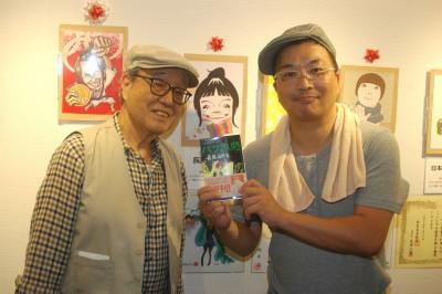 003長尾先生と荒川さん