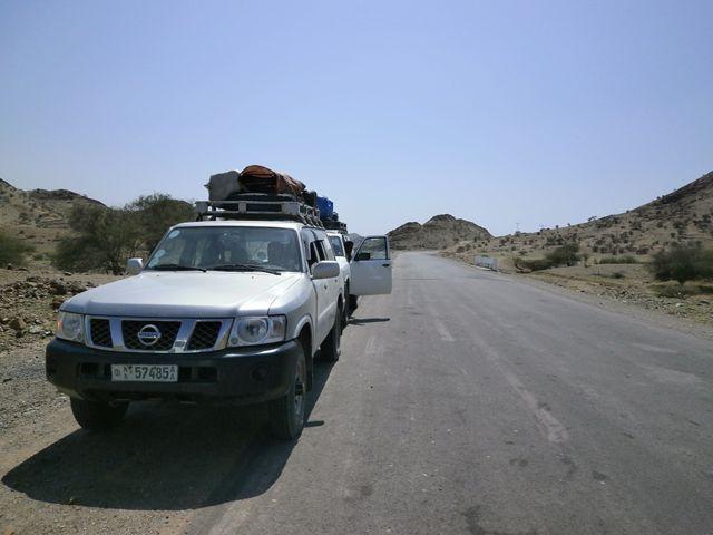 標高2000mのメケレから4WDにてダナキル砂漠へと出発です!