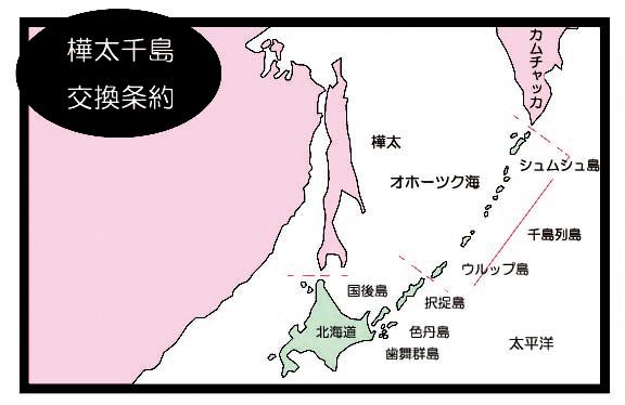 樺太千島交換条約