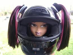 5-7 hair helmet