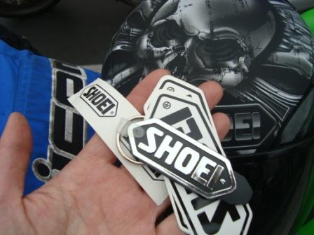 6-9 SHOEI KEY CHAIN