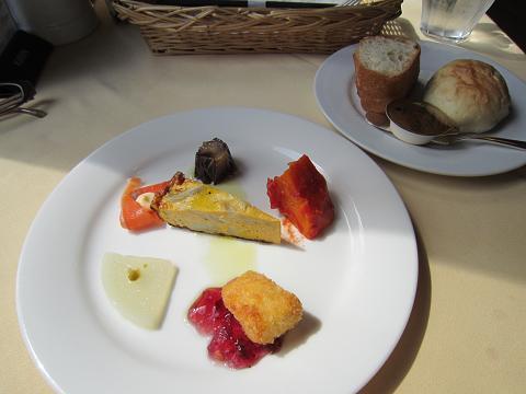前菜&パン