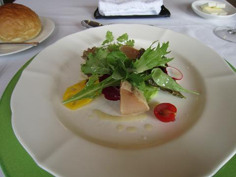 マグロのスモークサラダ
