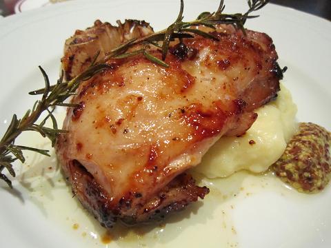 鶏もも肉のオーブン焼き