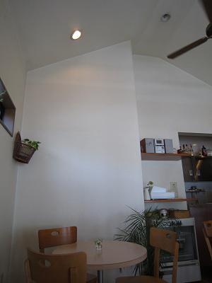 天井の高い店内