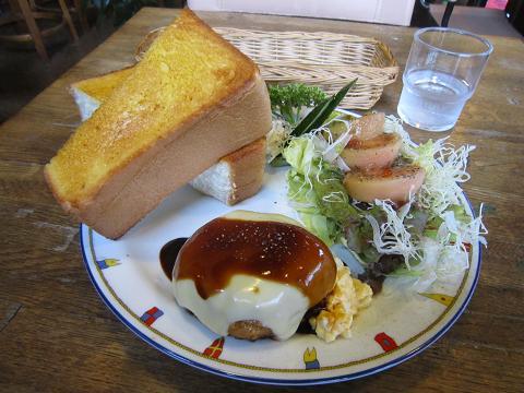 チーズハンバーグランチ