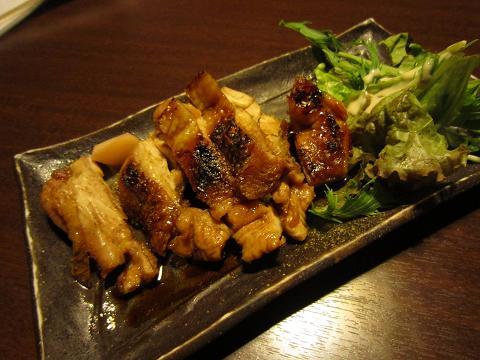 丹波地鶏の山椒焼き