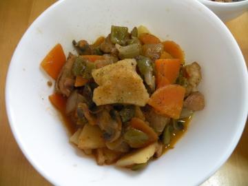 鶏肉と野菜のトマト煮120522