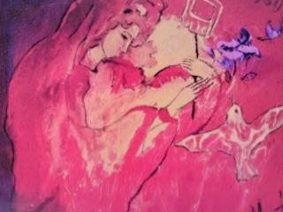 アマテラスオオミカミは愛に溢れた光線を放つ