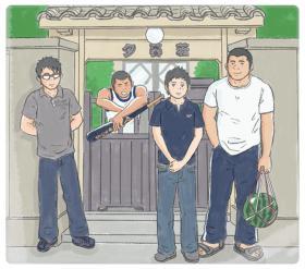 下宿のお兄さんカラーイラスト_001
