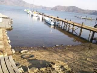 20120419 夕方の水位