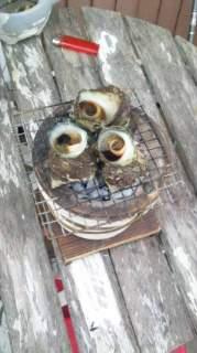 20120524 サザエのつぼ焼き