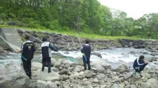 20120526  渓流釣り教室