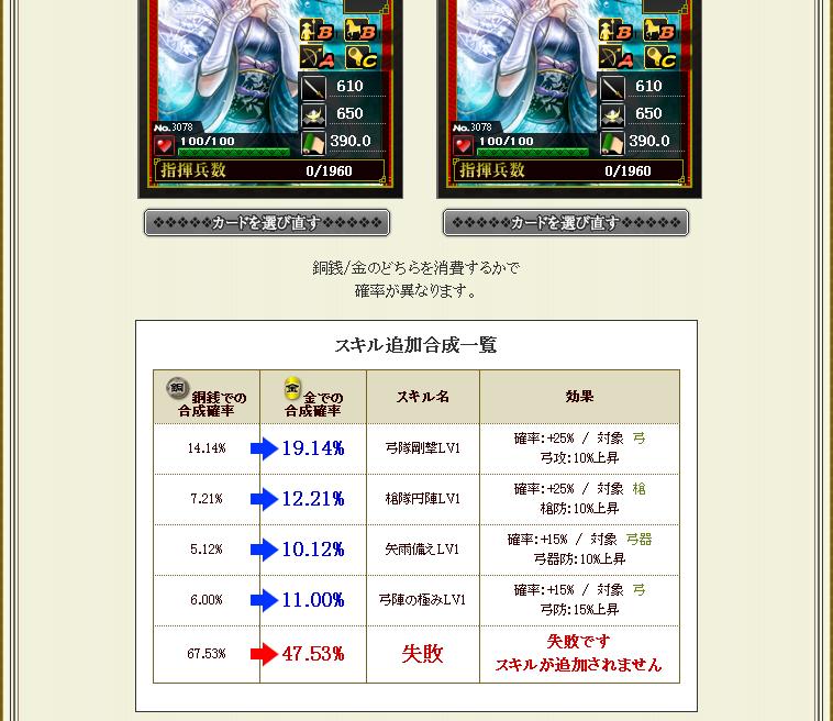 諏訪姫同カード合成