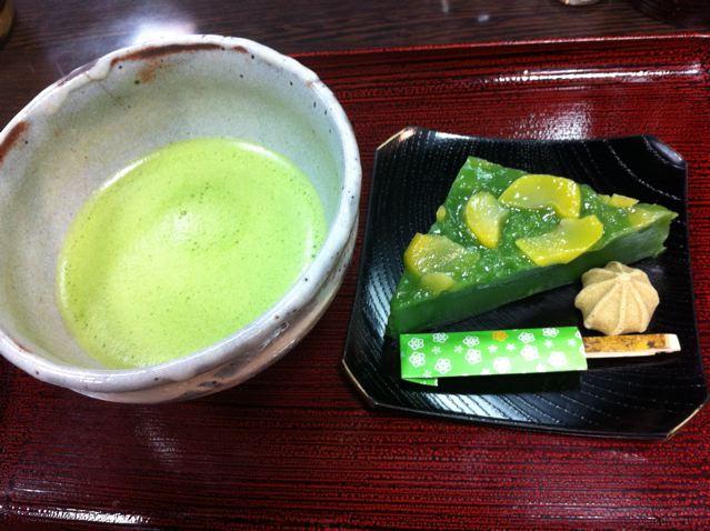 京都お抹茶菓子