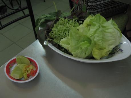 ホーチミンクアン94野菜