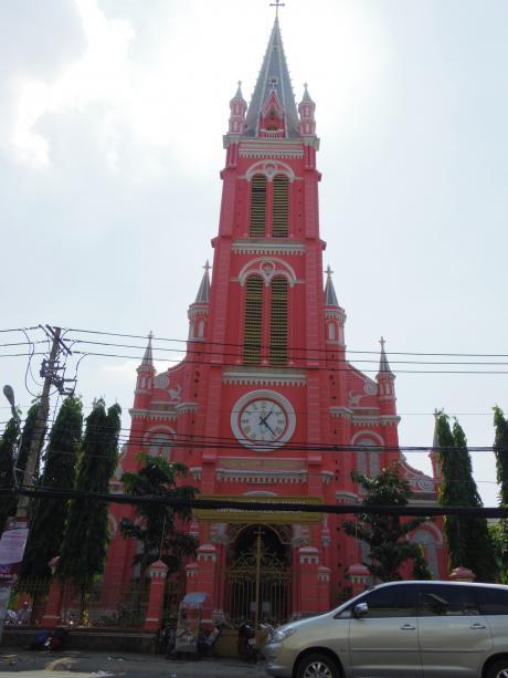 ホーチミンタンビン教会1