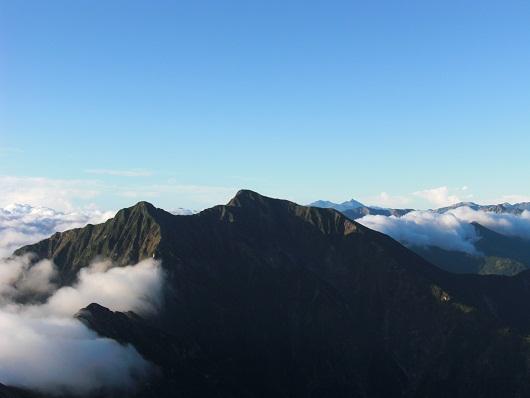 五竜岳から