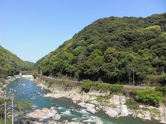 庄内川沿いです