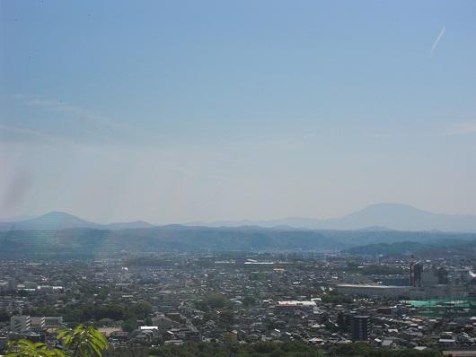 笠置山と恵那山と・・