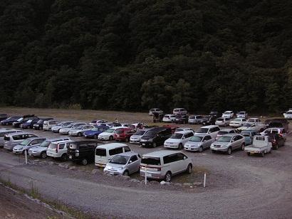 駐車場状況は・・