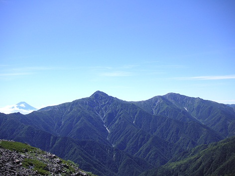 富士山~北岳~間ノ岳