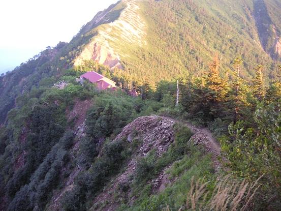 山荘へは。。