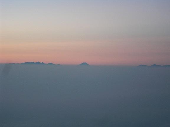 雲海の上を行けそうです。。