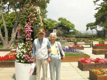 DSCN5484江ノ島で両親