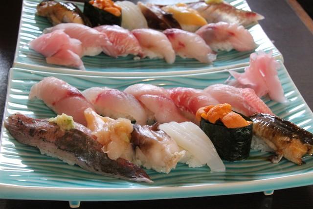 地魚のお寿司