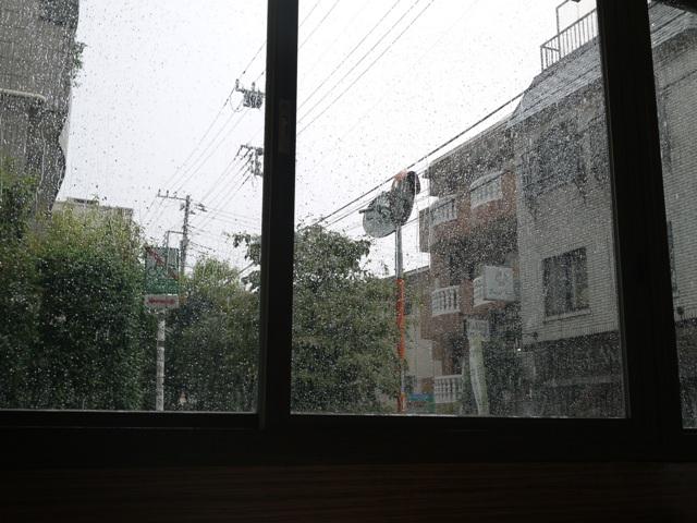 ゲリラ豪雨だよぉ~