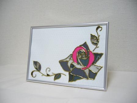 モノクロ バラ