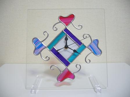 ハートの時計 1