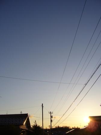 夕日20130206