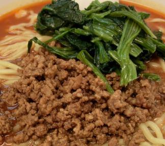 ひき肉と青菜